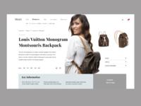 Fashion Store Desktop version