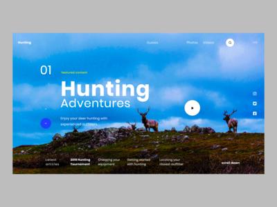 Hunting Dribbble