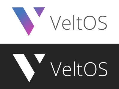 VeltOS Branding logo branding linux open source