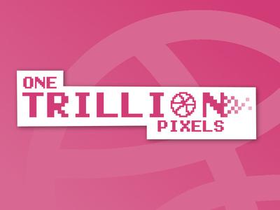 Pixelated Sticker 16-bit 8-bit retro sticker trillion