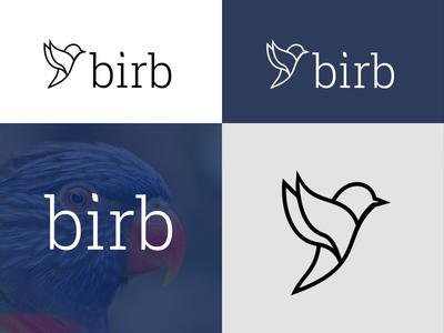 Bird Logo logo clothing branding birb bird