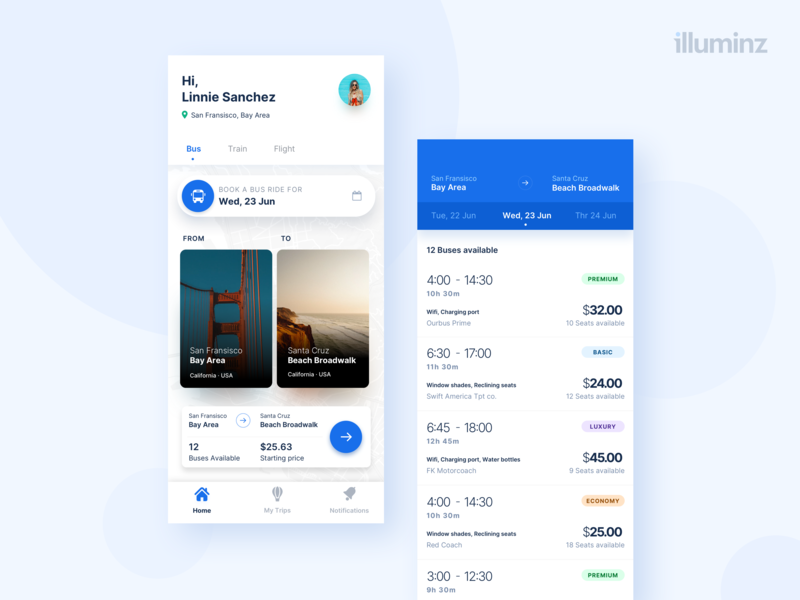 Ticket Booking App simplicity product ios icon button book white ux ui uber search trips listing minimalist app design travel tickets booking apple ticket booking
