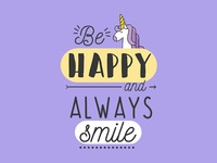 Be Happy and Always Smile