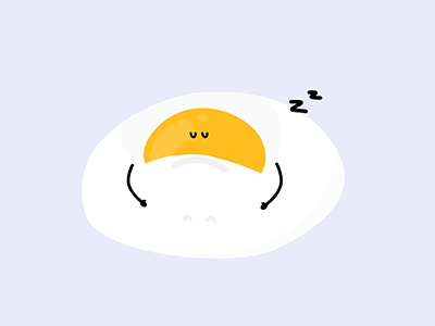Sleepy Egg