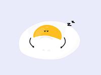 Sleepy Egg