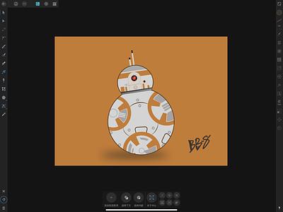 BB-8 Illustration design illustration