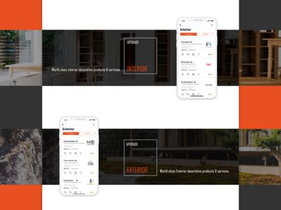 mobile app website for homely