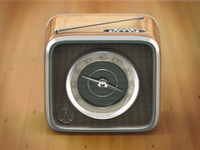 Radio icon large