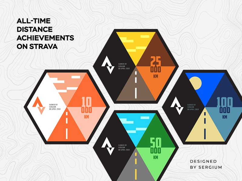 Cycling Badges achievements cycling badges strava