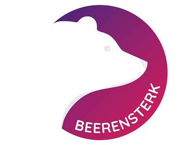Beerensterk - Logo design idenity personal logo brand design branding graphicdesign graphic logo design logo