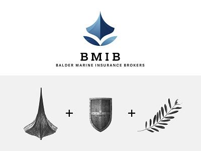 BMIB logo concept logotype logo vector design branding
