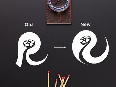 Reel Life Multimedia web vector ux ui music minimal logo illustration icon design branding app
