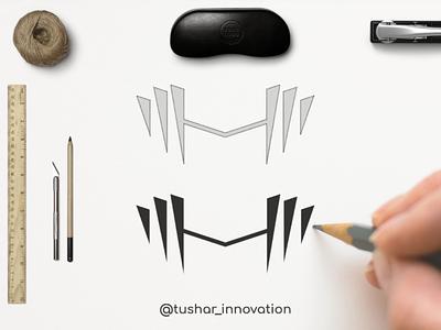 Relentless web vector ux ui music minimal logo illustration icon design branding app