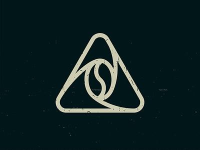 Coffee Shop logo triangle starbucks branding brand logos inspiration illustration designer design art minimal modern cafe icon logo coffee