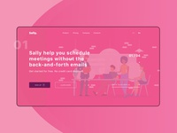 Sally / UI landing page
