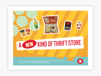 Direct Mail Postcard Design - Store Announcement technology store postcard poster illustrator startup marketing startup graphic design illustration marketing advertising flyer collateral direct mail print tech