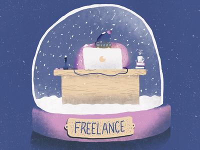 Blue Sequels / August / 009: Freelance character freelancer freelance illustration