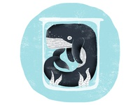 Blue Sequels / 015: Whale