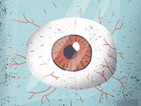 Eye in a bottle