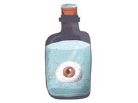 Eye in a bottle #2