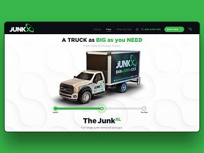 Slider slider car truck website