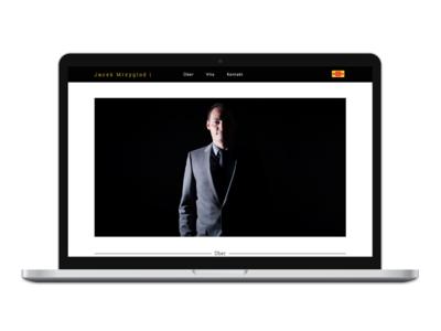 Website for Jacek Mrzyglod