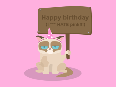 Grumpy Birthday Greetings