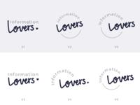 Information Lovers Logo (Drafts)
