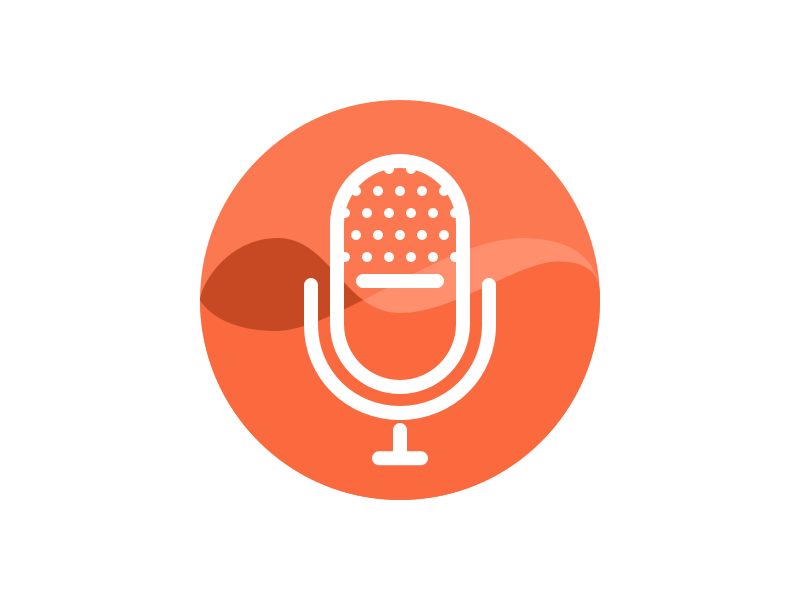 Podcast Icon By Katharina Clasen On Dribbble