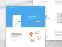 Steuerbot Website (tax chatbot)