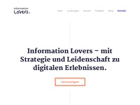 Information Lovers Website