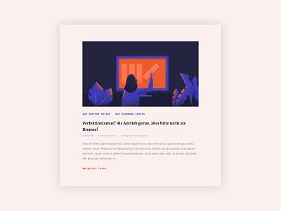Information Lovers Website blog branding portfolio ux design ux ui design ui interactiondesign interfacedesign screendesign webdesign website