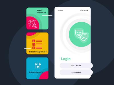 App Design for Event Management Platform