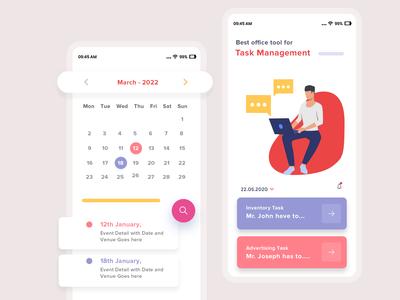 App Design For Office Task Management