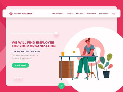 Website Design for Placement Organization
