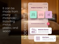 Online Furniture Shopping App