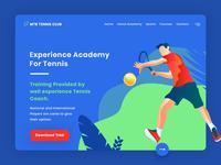 Sports Training Academy Website