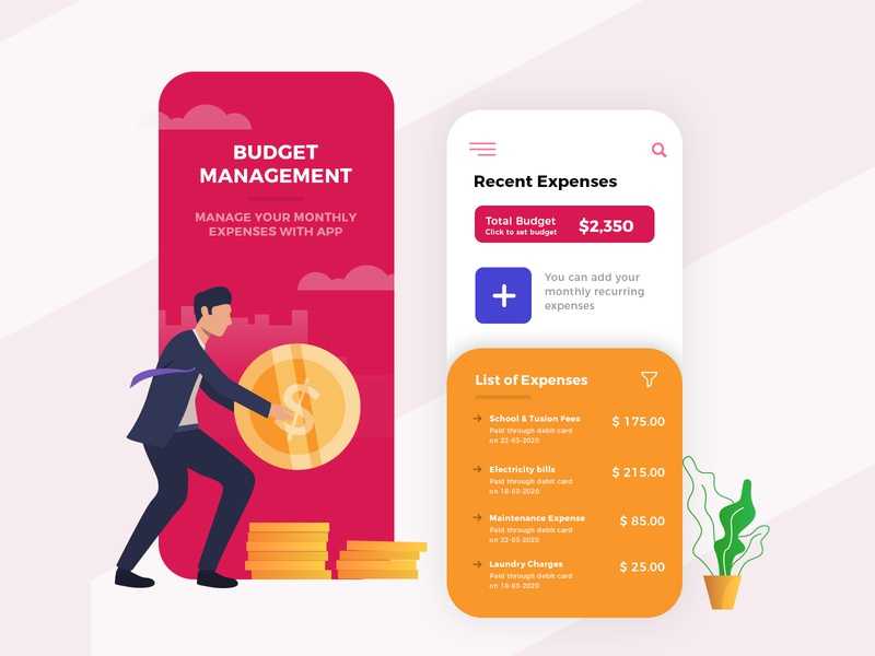 Expense Manager App Design best ux designer best ui designer freelancer hire prototype ai uidaily uid ui designer ui design app design expense expense manager expense tracker expenses