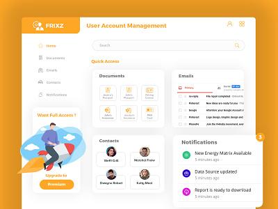 Admin Design for User Account Management admin design user management dashboard template dashboard design dashboard app dashboard ui dashboard admin dashboard admin template admin panel admin
