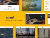 Anant | Multipurpose Psd Template