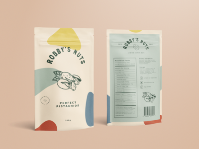 Robby's Nuts Packaging