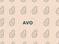 Avocado Brunch Bar Branding