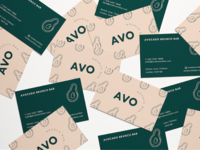 Avo Brunch Bar Business Cards