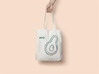 Avocado Tote Bag