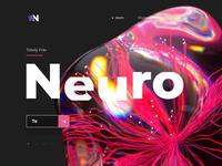 🧠 Neural Network Website 🧠 crystal website web neural network neural ux hero abstract design cinema 4d ui c4d animation 3d