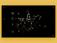 🐇Studio Web Site 🐇 trends 2019 wow userinterface rabbit scroll promo studio web design web cinema 4d ui c4d interaction animation 3d