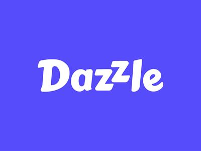 Dazzle branding diversity rainbow community employee lgbtq pride typogaphy logo