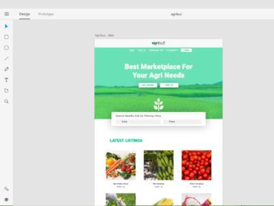 Agribuz Redesign redesign minimal web job portal creative ui user interface design web design
