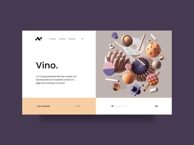 It is a minimal and Modern Website