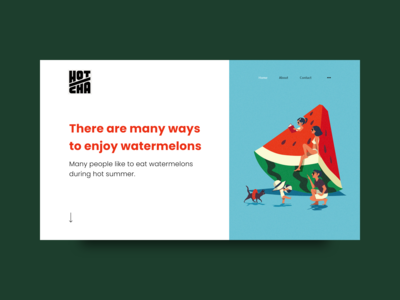 There are many ways to enjoy watermelons